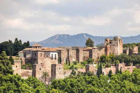 Alcazaba and Nasrid Palace in Malaga