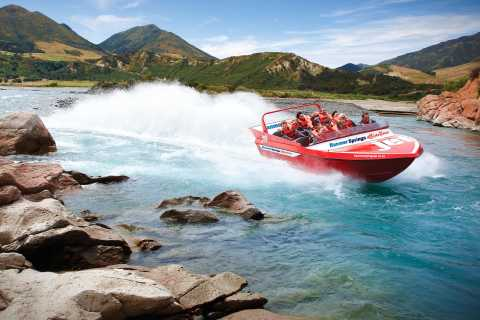Hanmer Springs Jetboat & Quad Bike Combo