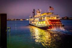 Nova Orleans: Cruzeiro Noturno com Jazz em Barco a Vapor