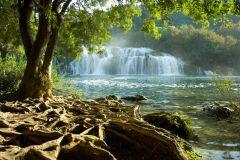 De Split ou Trogir: Parque Nacional Krka com ingresso