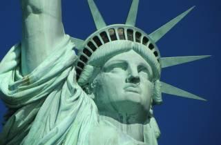 Ab Midtown Manhattan: Freiheitsstatue-Tour per Express-Bus