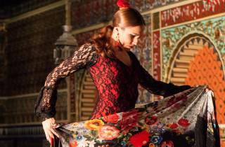 Madrid: Live-Flamenco-Show mit Speisen- & Getränke-Optionen