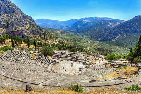 Desde Atenas: Argolis de 3 días - Olympia - Delphi Tour