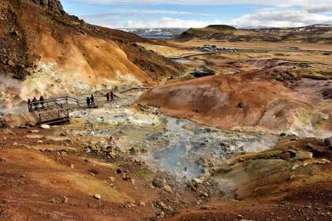 From Reykjavik: Small-Group Reykjanes Geopark Tour