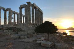 De Atenas: Excursão e Pôr do Sol em Cabo Sunião