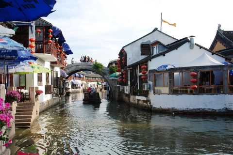 Shanghai: città antica di Zhujiajiao e crociera sul fiume Huangpu