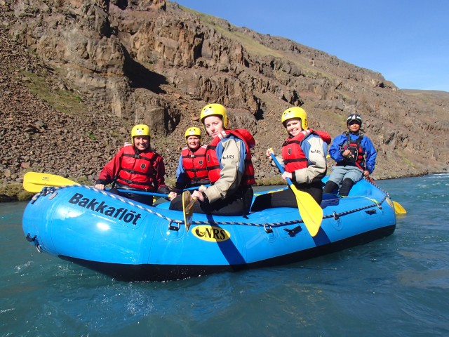 West Glacial River Family Rafting