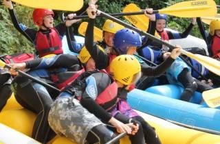 Halbtägiges Rafting-Abenteuer am Edinburgh River Tay