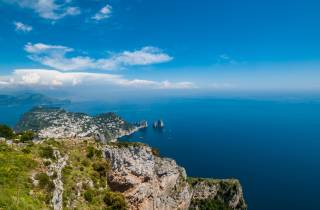 Ab Rom: Tagesausflug nach Capri mit Blauer Grotte