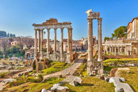 Colosseum, Roman Forum, and Palatine Hill Private Tour