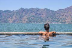 Bali: Nascer do Sol no Monte Batur e Fontes Termais Naturais