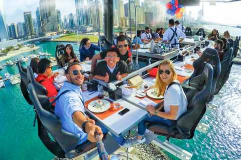 """Dubai: """"High Tea"""" tra i cieli della città"""