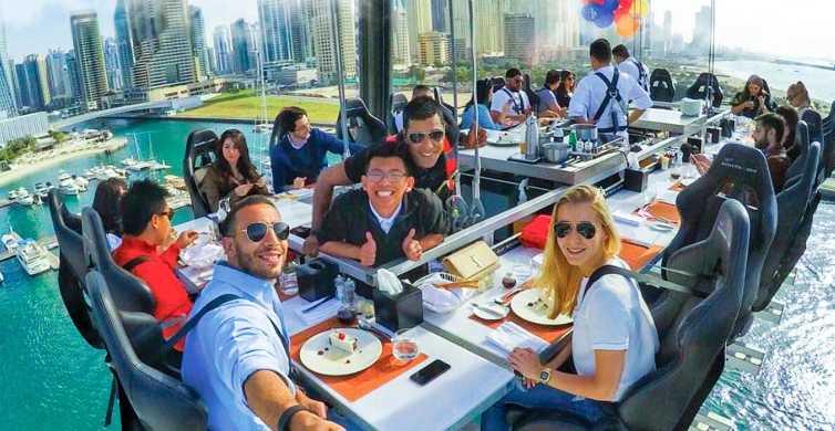 Dubai: high tea, hoog in de lucht