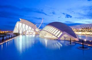 Valencia: Kombitickets Hemisfèric & Principe Felipe Museum