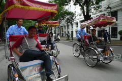 Excursão gastronômica de rua em Hanói e Cyclo