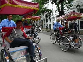 Hanoi: Private Street-Food-Tour per Cyclo