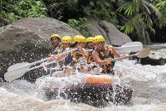 Bali: Rafting nas Corredeiras do Rio Ayung com Almoço