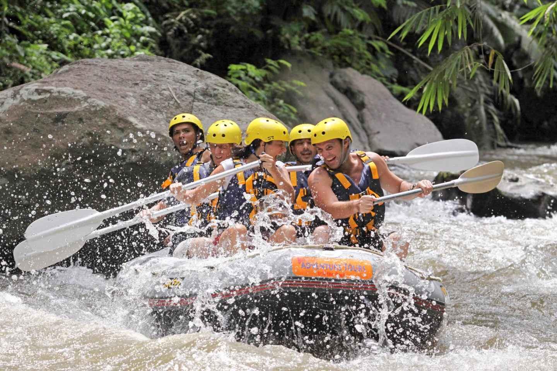 Bali: Wildwasserrafting Ayung River mit Mittagessen