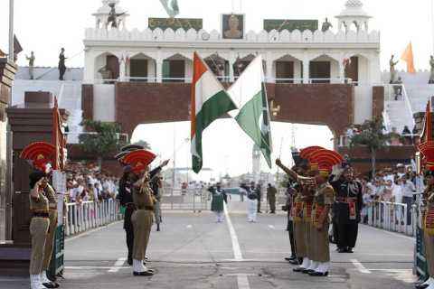 Indo-Pak Beating Retreat Ceremony at Wagah Border & Dinner