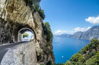 Ab Rom: Tagestour Amalfiküste & Pompeji in kleiner Gruppe