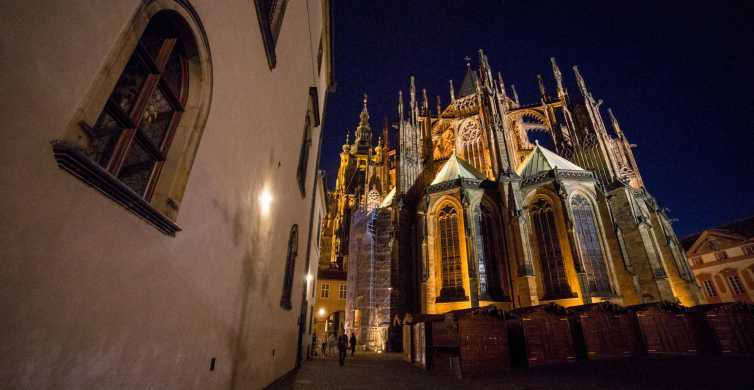 3-Hour Tour of Prague Castle and Old Town After Dark