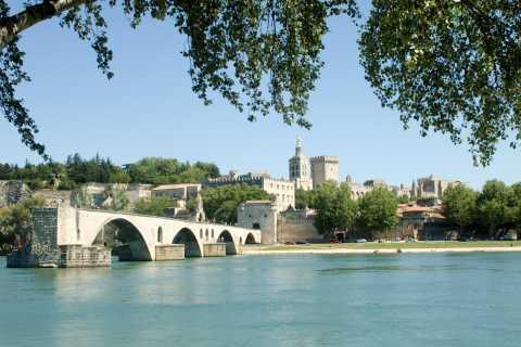 Tour a piedi di 3 ore ad Avignone e degustazione di vini