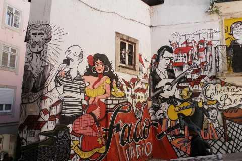 Lisboa: Arte de rua e passeio a pé histórico