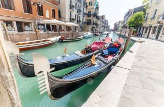Venedig: Traditionelle geteilte Gondelfahrt