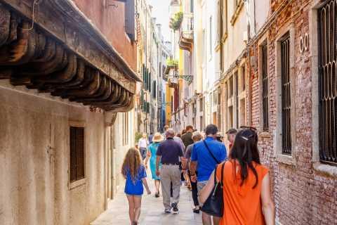 Recorriendo Venecia: tour de tarde a pie (1,5 horas)