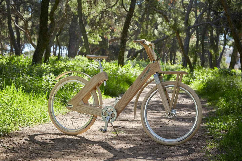 Stockholm: Stadtrundfahrt auf einem Holz-Fahrrad