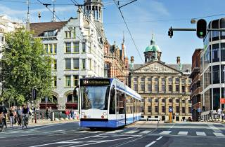 Amsterdam: GVB-Ticket für öffentliche Verkehrsmittel