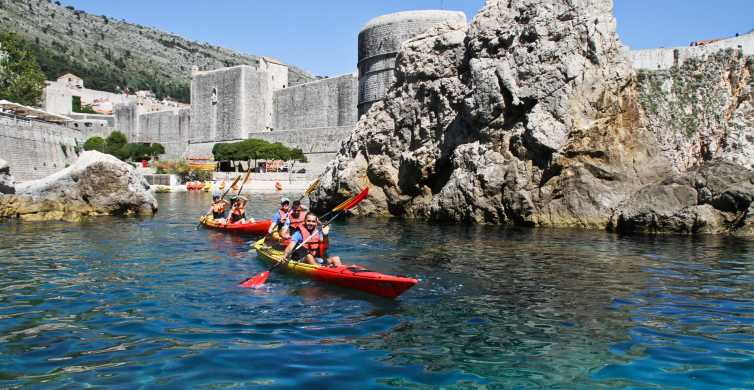 Dubrovnik: Day or Sunset Sea Kayaking Tour with Snack