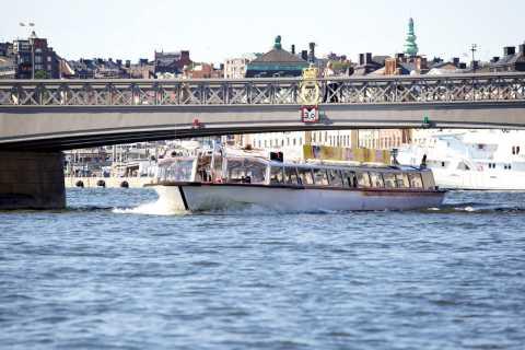 Stockholm: Hop-on hop-off-sightseeingbåt, 24 eller 72 timmar