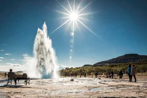 Reykjavik: Golden Circle Tour & Secret Lagoon Tagestour