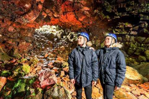 From Reykjavik: Raufarhólshellir Lava Tunnel by Bus