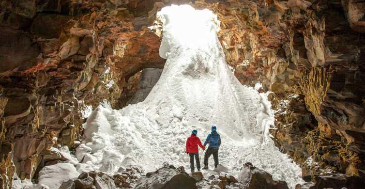 Raufarhólshellir Lava Tunnel: Underground Expedition