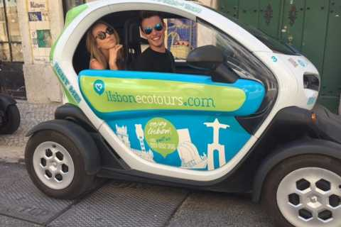 Lisbon: Electric Car Discovery Tour & GPS Audio Guide