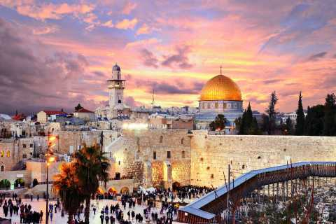 Jerusalem: Three Religions Holy City Walking Tour
