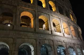 Rom: 2,5-stündige Kolosseum-Mondschein-Kleingruppentour
