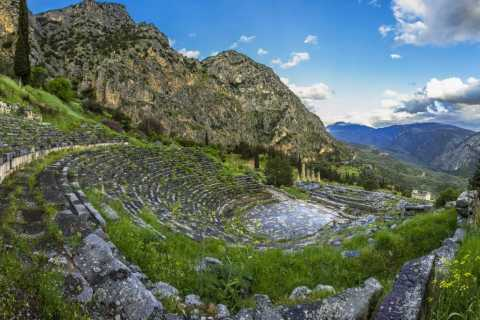 From Athens: 3-Day Tour to Olympia, Delphi and Meteora