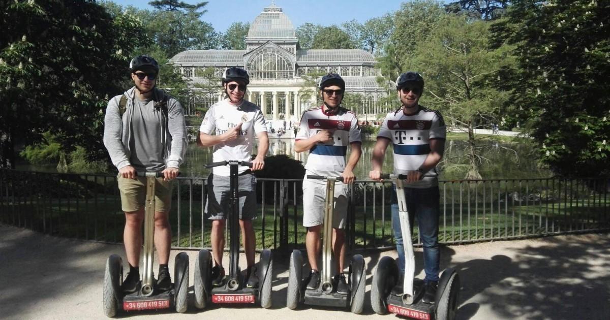 Retiro Park Segway Tour