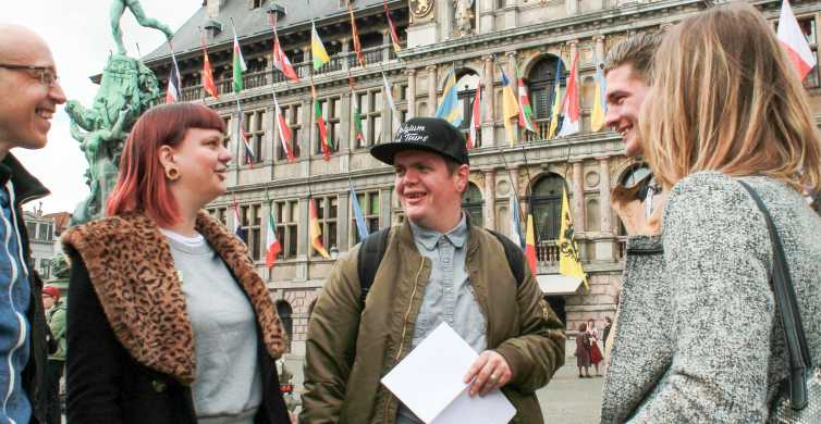Antwerp: Historic Old Town 3-Hour Food Tour