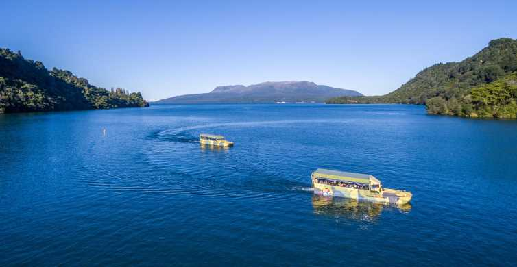 Tarawera and Lakes 2-Hour Duck Eco Tour