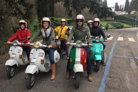 From Florence: Tuscan Countryside Tour on a Vintage Vespa