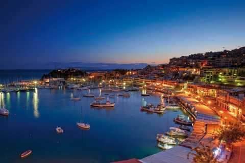 Avond in Piraeus en romantisch diner in Athene