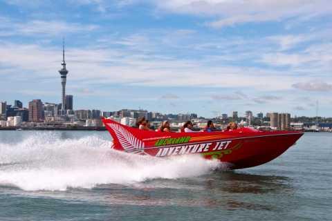 Porto de Auckland: Passeio Radical de Lancha de 35 Minutos