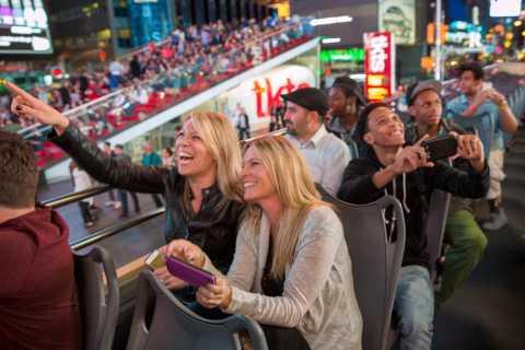 Nova Iorque: Passeio Noturno Guiado em Ônibus a Céu Aberto