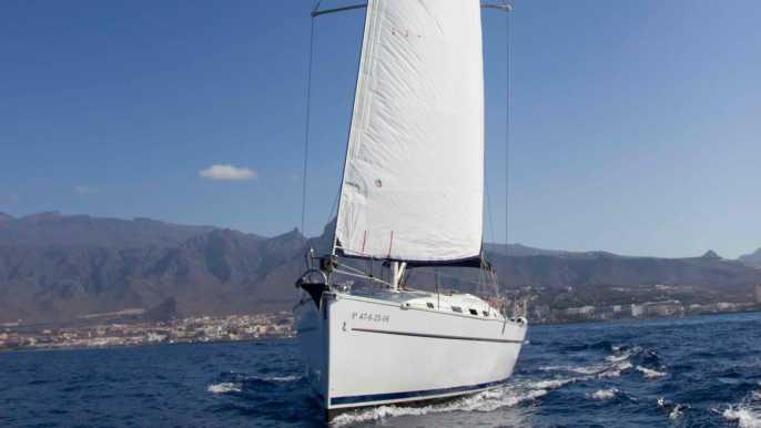 Tenerife: Sailing Boat Charter with Skipper
