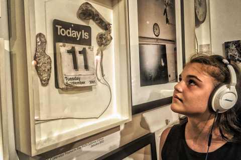 Workshop do 9/11 no Ground Zero Museum: turnê prático de áudio BOSE