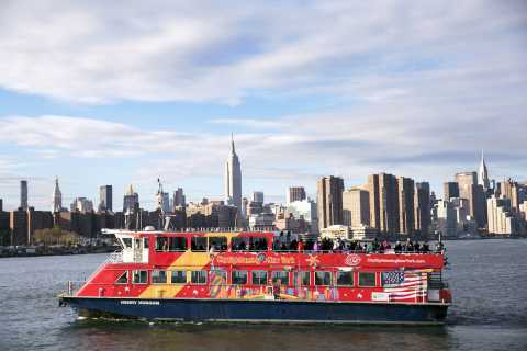 New York: hop on, hop off-veerboot en One World Observatory